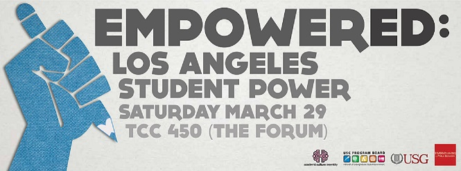 Welcome to the Official Website for EmpowerED: Los Angeles Student Power 2014!